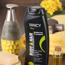 Ferah duş jeli ve vücut ve saç için şampuan