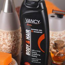 Egzotik duş jeli ve vücut ve saç için şampuan